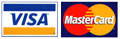 credit cards accepted - Visa, MasterCard