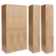 Club Wood Lockers