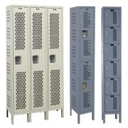Hallowell Heavy-Duty Ventilated (HDV) Locker, Knock-Down