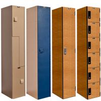 Plastic & Phenolic Lockers
